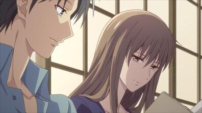 紫呉と付き合っていた髪を下ろしている繭子先生が綺麗