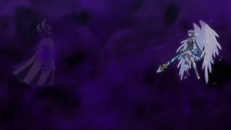 シーマと魔獣の戦い