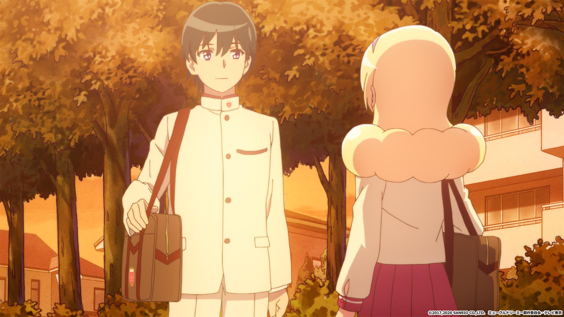 【アニメ】ミュークルドリーミーの31話あらすじ・ネタバレ感想   ついに杉山先輩とデート回!