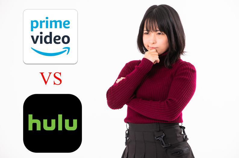 huluとAmazonプライムビデオを比較