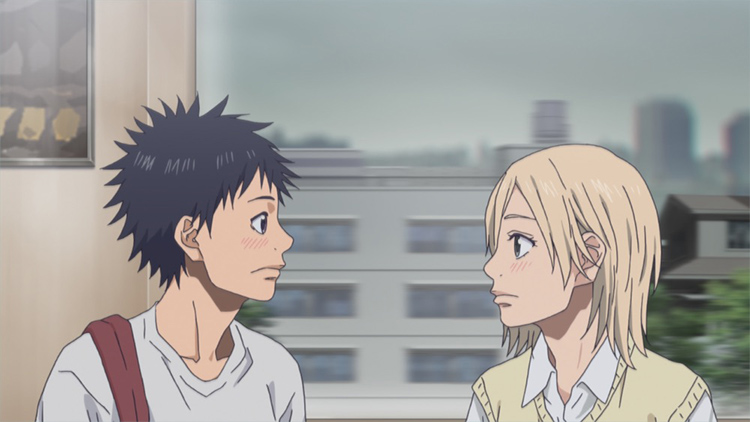 空と奈緒で試合を見に行くがまるでデートみたい!