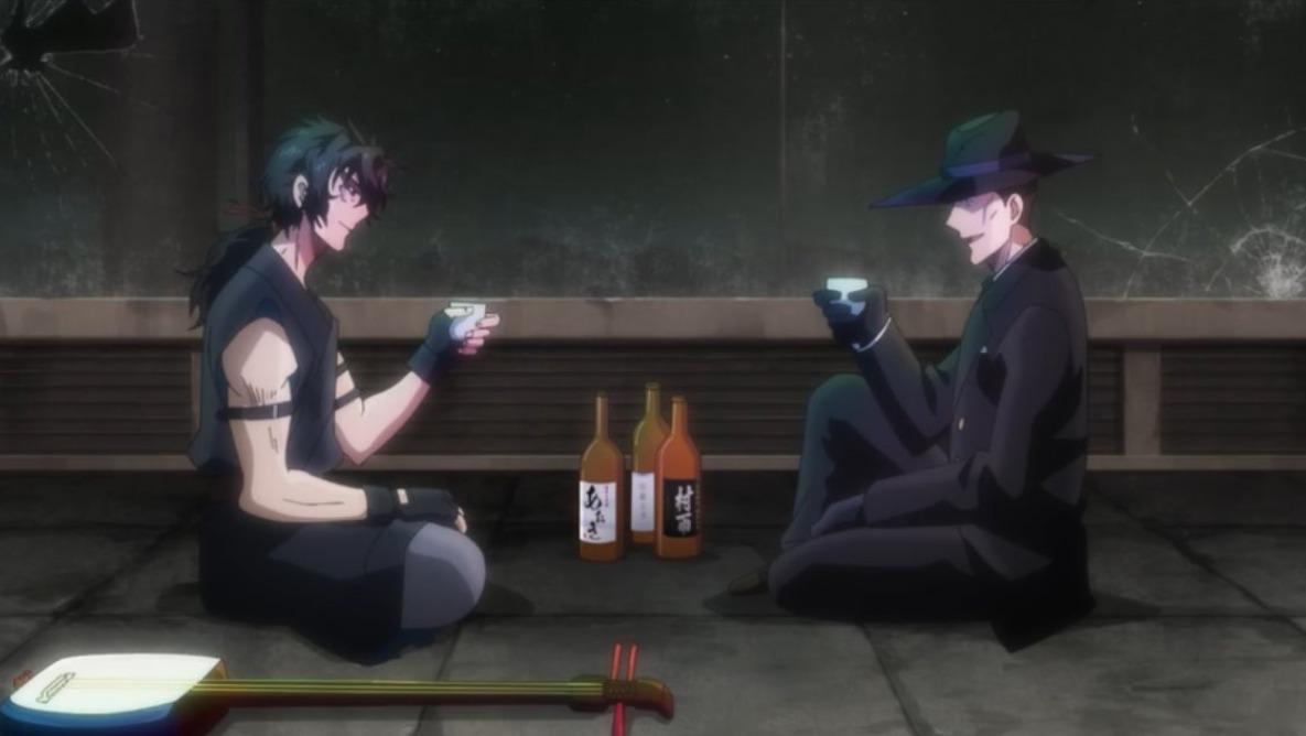 酒の飲み比べ