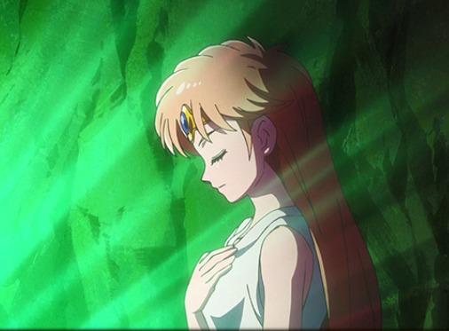 洗礼を受けるレオナ姫