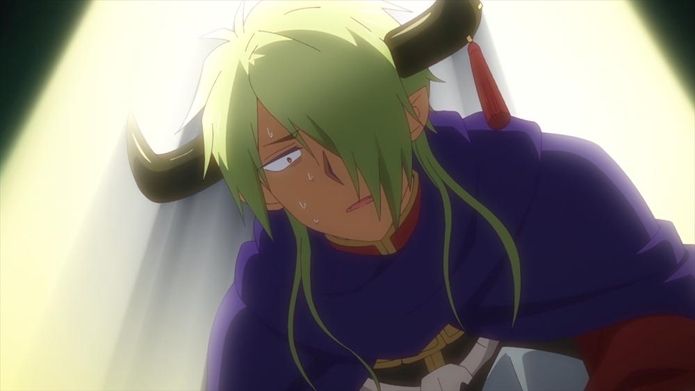 姫に伝説の武器を見つけられ焦る魔王