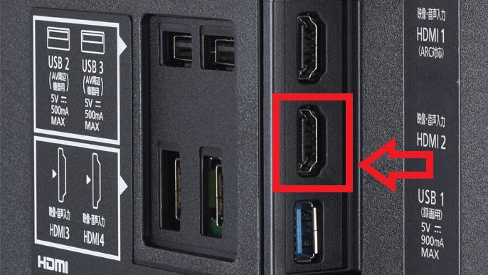 HDMI端子について