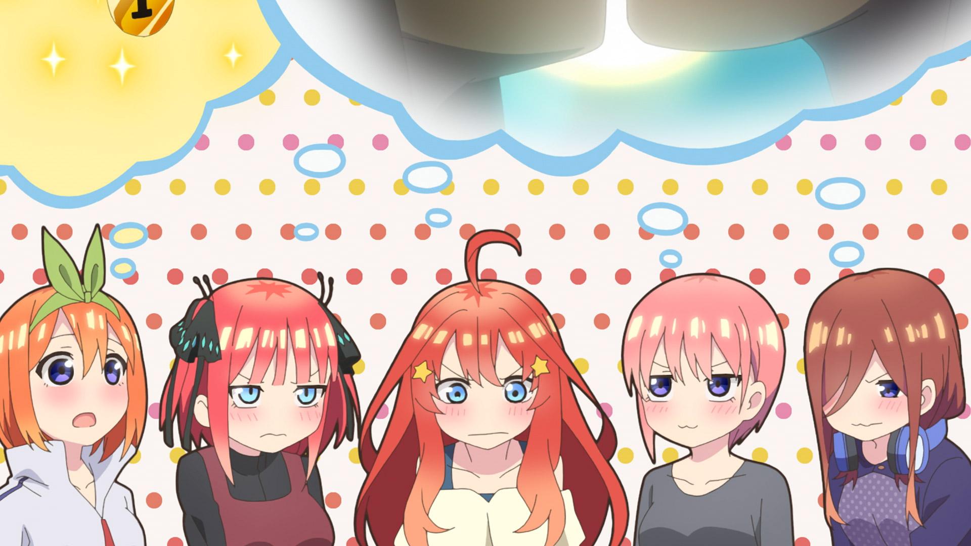 【アニメ】五等分の花嫁2期の5話あらすじ・ネタバレ感想 | 新年を迎えた風太郎に、五つ子たちが手厚い歓迎!?その真意とは……?
