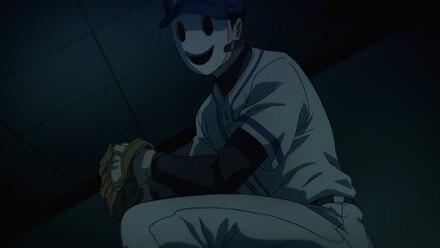 野球仮面登場