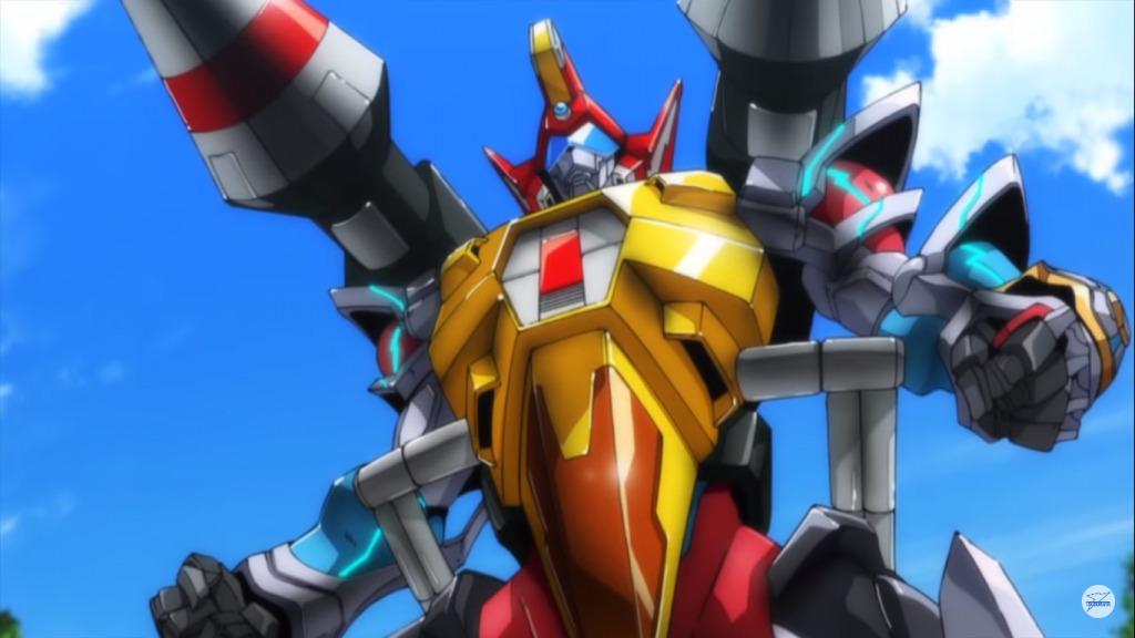 武装合体超人バスターグリッドマン