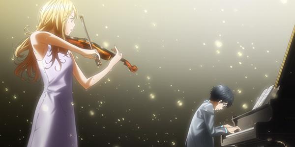 ピアノとバイオリンで語り合い演奏
