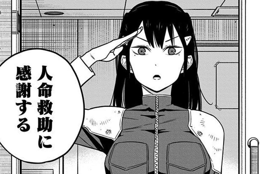 【怪獣8号】亜白ミナの強さや専用武器について解説